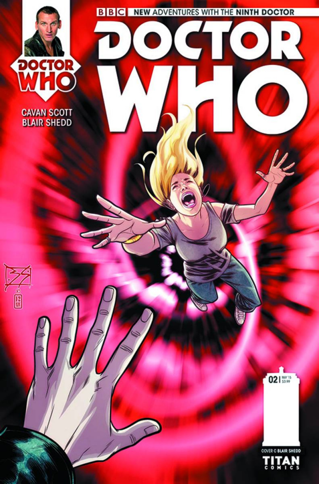 Doctor Who: New Adventures with the Ninth Doctor #2 (10 Copy Shedd Cover)