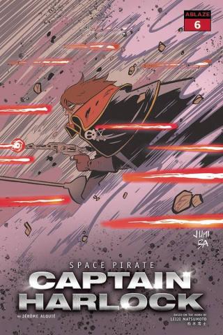 Space Pirate: Captain Harlock #6 (Juni Ba Cover)