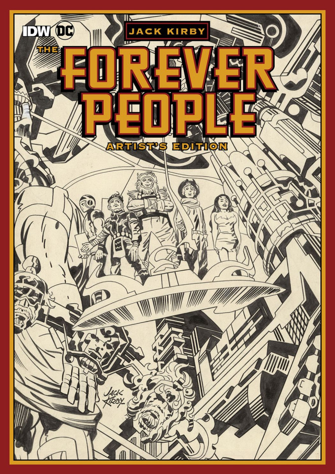 Jack Kirby: The Forever People Artist's Edition