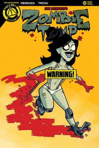 Zombie Tramp #22 (Massa Risque Cover)