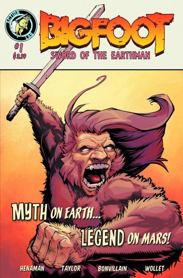 Bigfoot: Sword of the Earthman #1