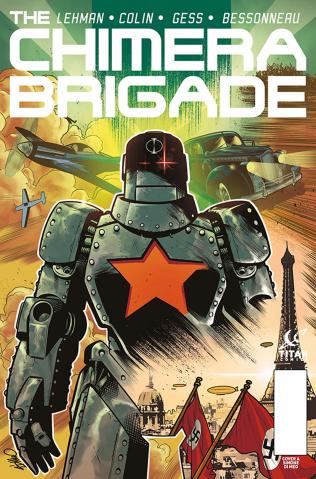 The Chimera Brigade #3 (Di Meo Cover)
