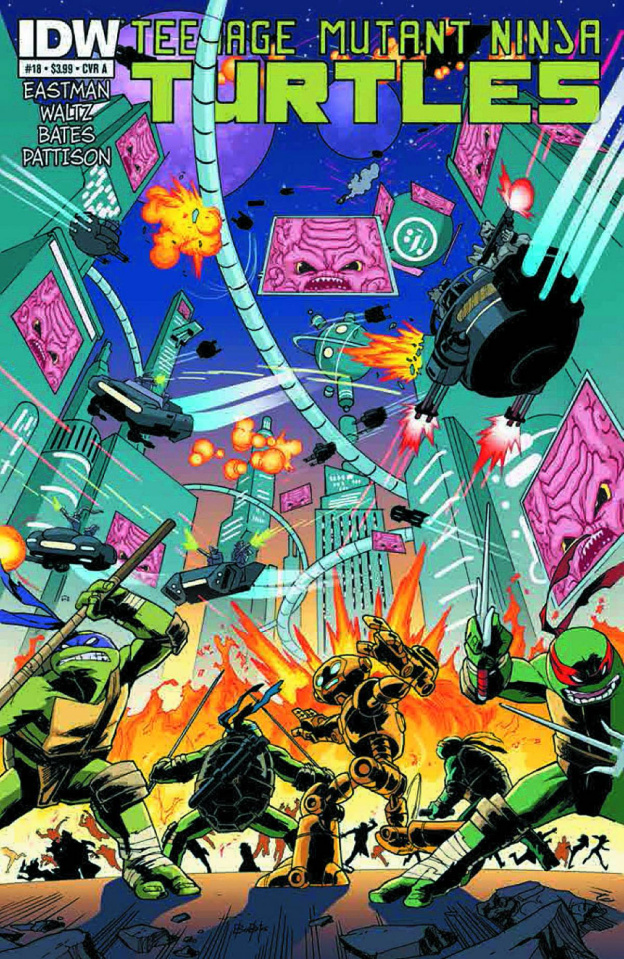 Teenage Mutant Ninja Turtles #18 (2nd Printing)