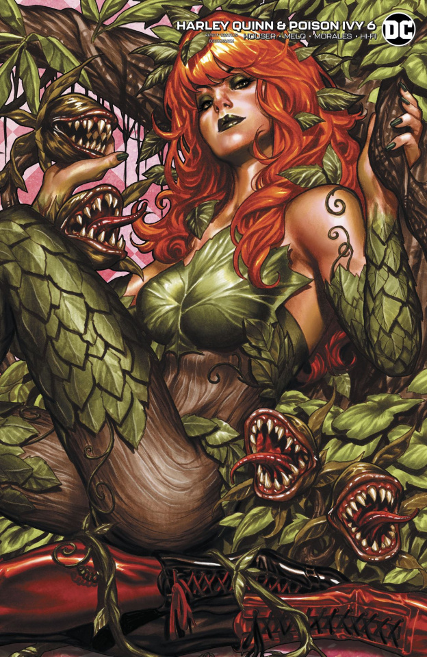 Harley Quinn & Poison Ivy #6 (Card Stock Poison Ivy Cover)