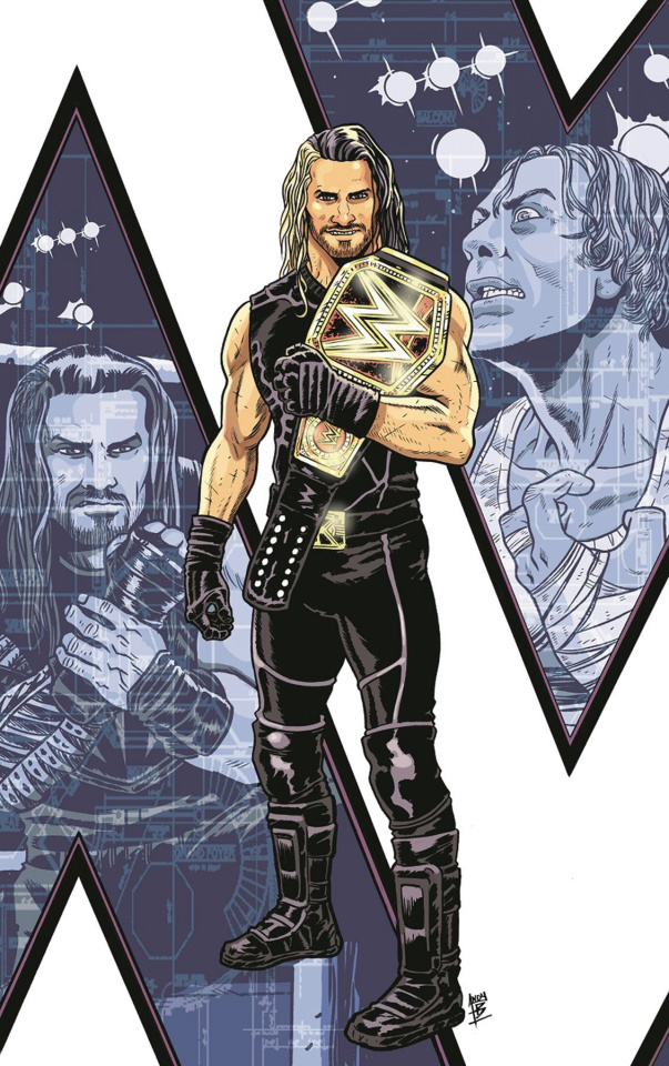 WWE: Then, Now, and Forever #1 (3rd Printing)