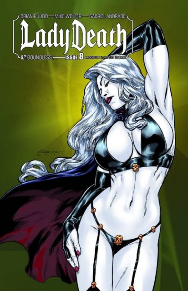 Lady Death #8 (Brickhouse Cover)