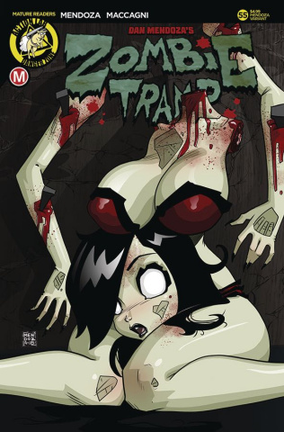 Zombie Tramp #55 (Mendoza Risque Cover)