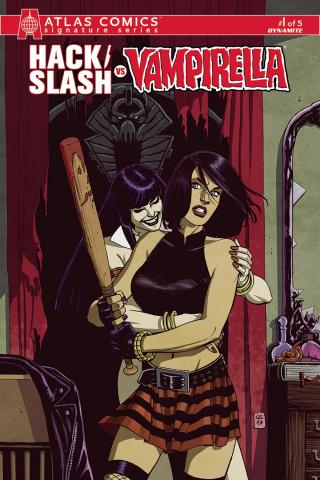 Hack/Slash vs. Vampirella #1 (20 Copy Cover)