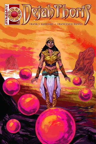 Dejah Thoris #1 (10 Copy Doyle Unique Cover)
