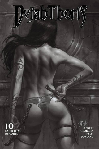 Dejah Thoris #10 (10 Copy Parrillo B&W Cover)
