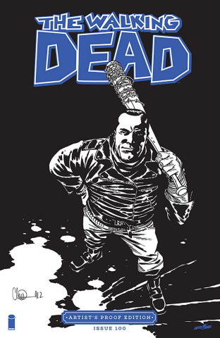 The Walking Dead #100 (Artist's Proof Edition)