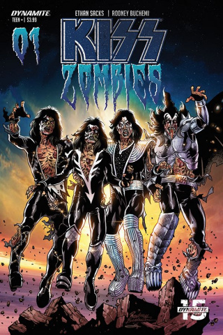 KISS: Zombies #1 (Buchemi Cover)