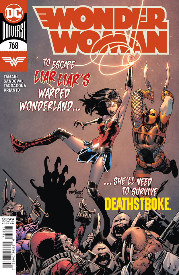 Wonder Woman #768 (David Marquez Cover)