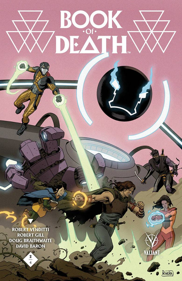 Book of Death #2 (60 Copy Rivera Cover)