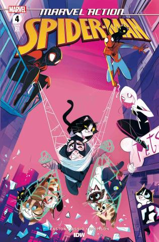 Marvel Action: Spider-Man #4 (10 Copy Baldari Cover)