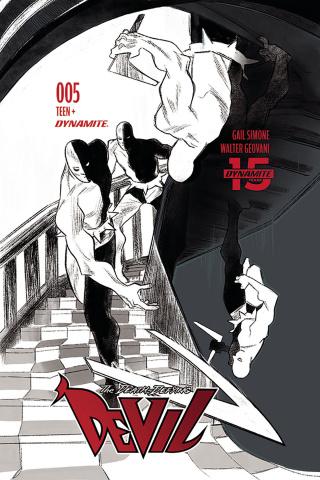 The Death-Defying Devil #5 (20 Copy Henderson B&W Cover)