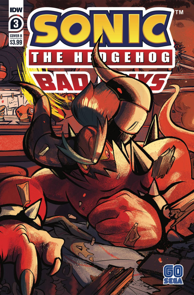 Sonic the Hedgehog: Bad Guys #3 (Skelly Cover)