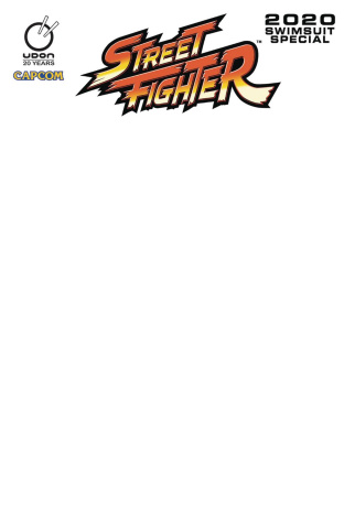 Street Fighter 2020 Swimsuit Special #1 (Blank Cover)