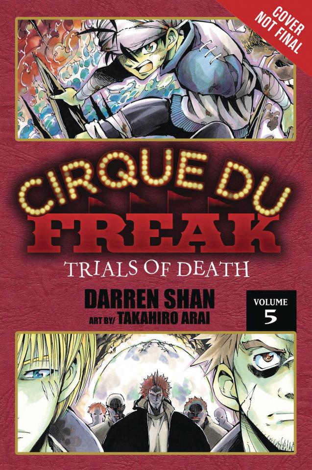 Cirque Du Freak Vol. 3 (Omnibus)