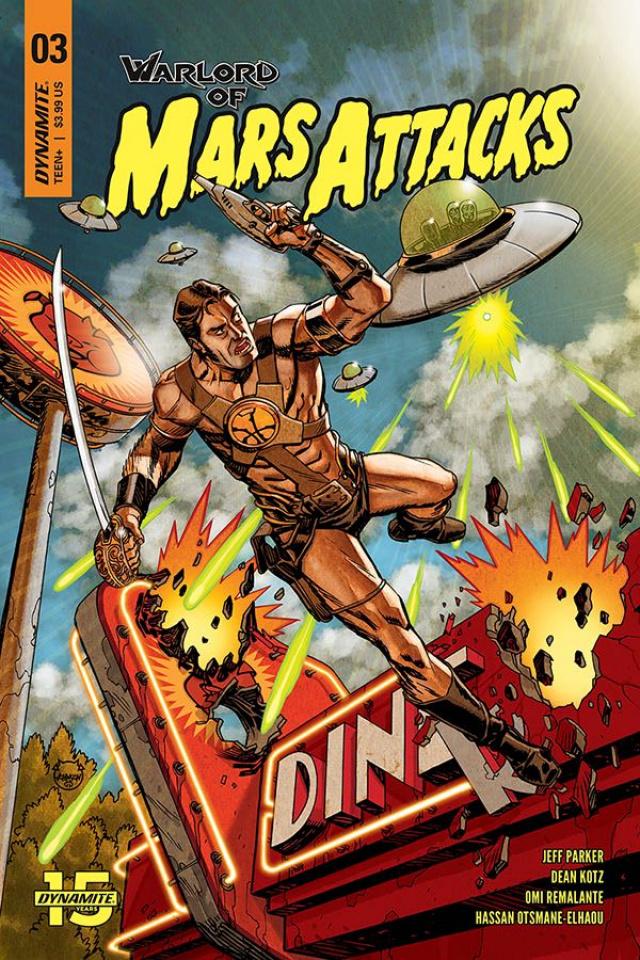 Warlord of Mars Attacks #3 (Johnson Cover)