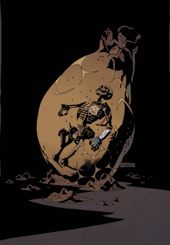 B.P.R.D.: Hell On Earth - Return of the Master #4 (Mignola Cover)