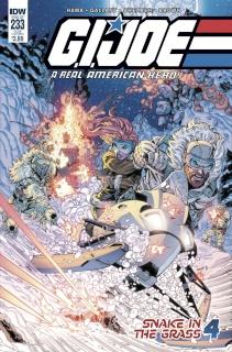 G.I. Joe: A Real American Hero #233 (Subscription Cover)
