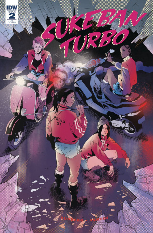 Sukeban Turbo #2 (Santos Cover)