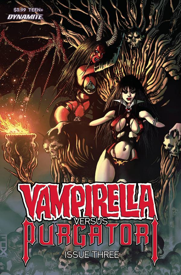 Vampirella vs. Purgatori #3 (Fox Cover)