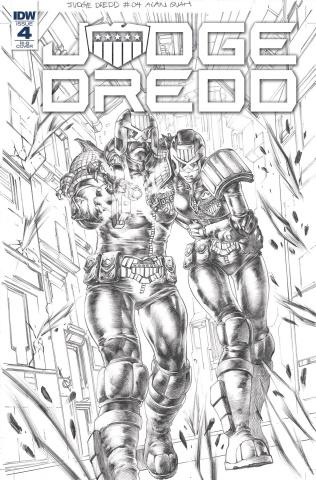 Judge Dredd: Under Siege #4 (15 Copy Quah Cover)