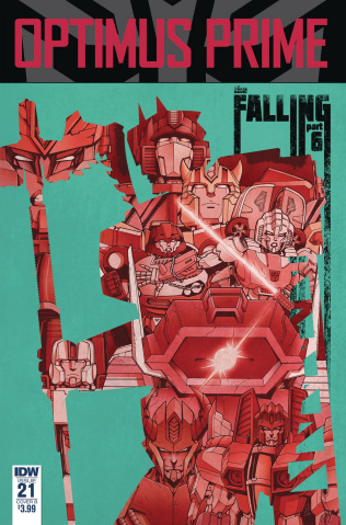 Optimus Prime #21 (Coller Cover)