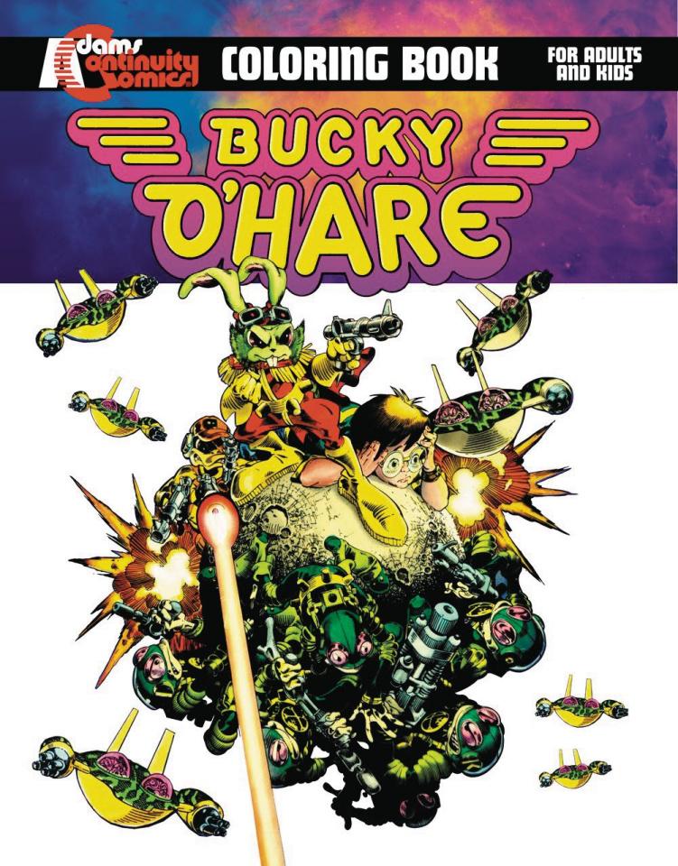 Bucky O'Hare: Graphic Novel Coloring Book