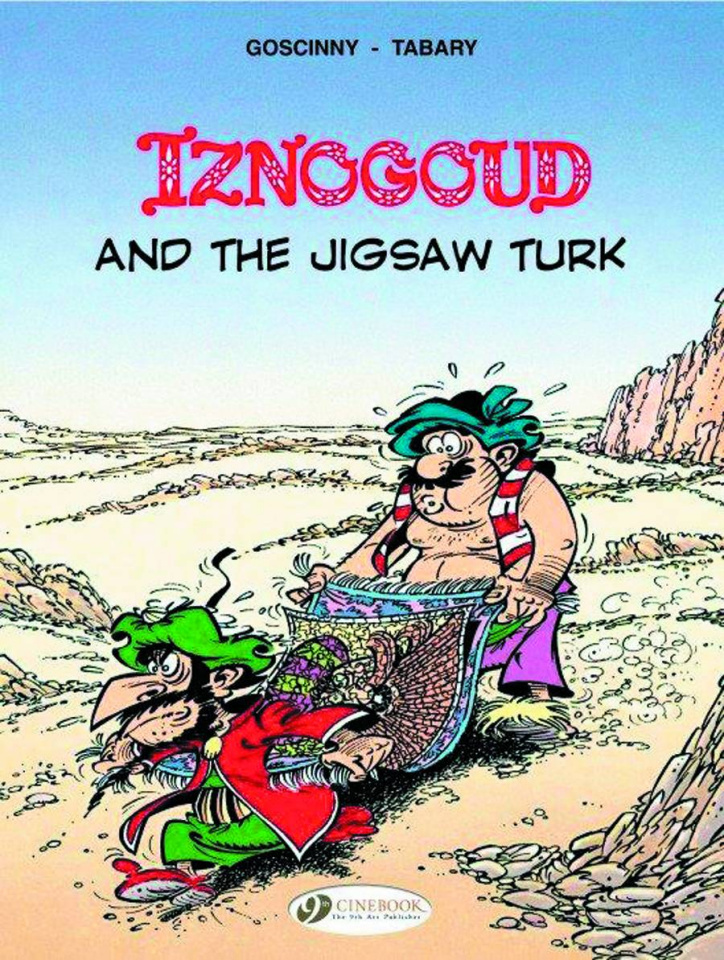 Iznogoud Vol. 11: Iznogoud and the Jigsaw Turk