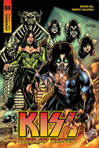 KISS: Blood and Stardust #4 (Buchemi Cover)