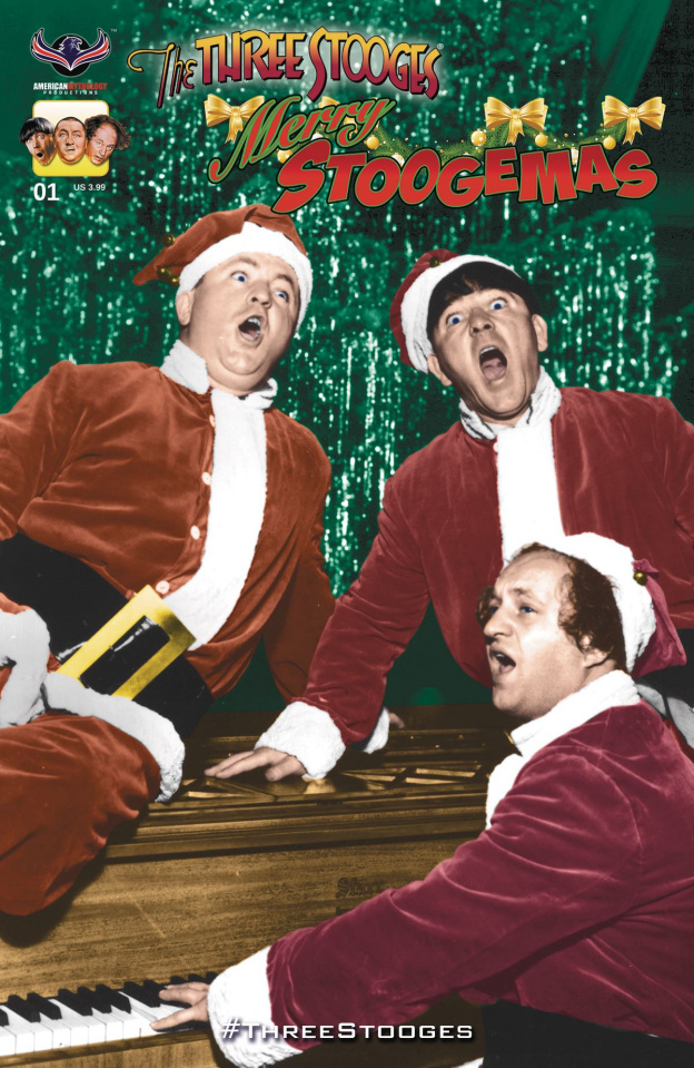 The Three Stooges: Merry Stoogemas (Photo Cover)