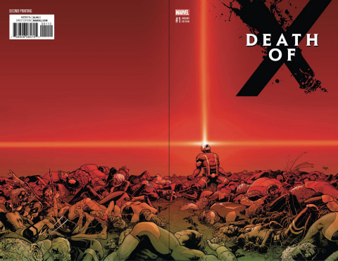 Death of X #1 (2nd Printing Kuder Cover)