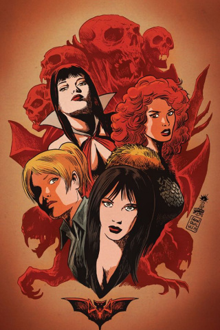 Red Sonja and Vampirella Meet Betty and Veronica #1 (50 Copy Francavilla Cover)