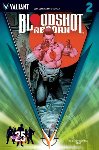 Bloodshot: Reborn #2 (25th Ann. Sandoval Cover)