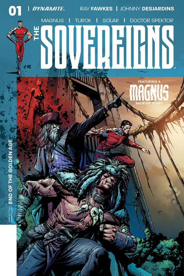 The Sovereigns #1 (Desjardins Cover)