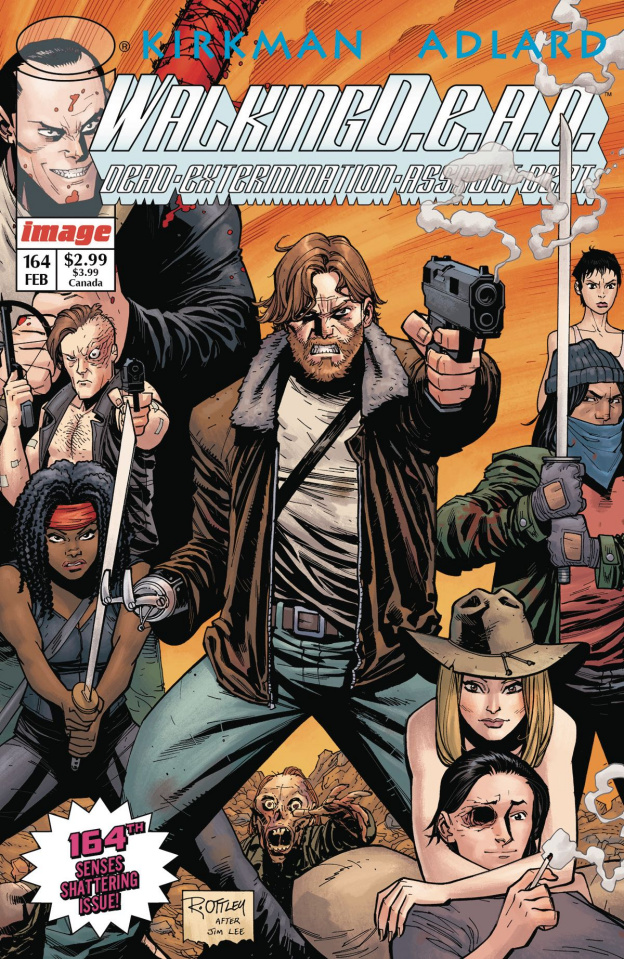 The Walking Dead #164 (Image Tribute Cover)