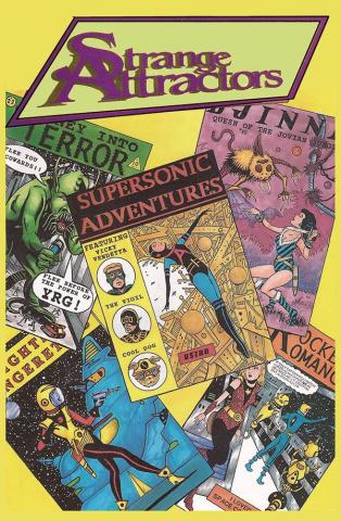 Strange Attractors #8 (Retro Variant Cover)