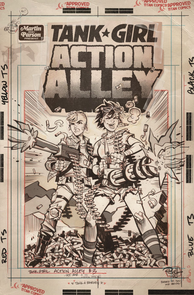 Tank Girl: Action Alley #3 (Artist Edition)
