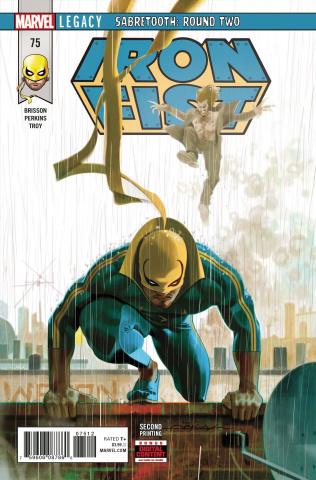 Iron Fist #75 (2nd Printing)