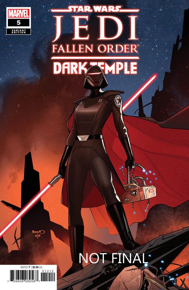 Star Wars: Jedi Fallen Order - Dark Temple #5 (Renaud Cover)