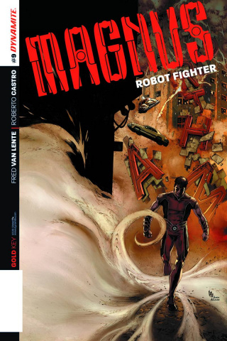 Magnus, Robot Fighter #9 (Lau Cover)