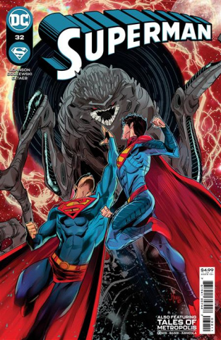 Superman #32 (John Timms Cover)