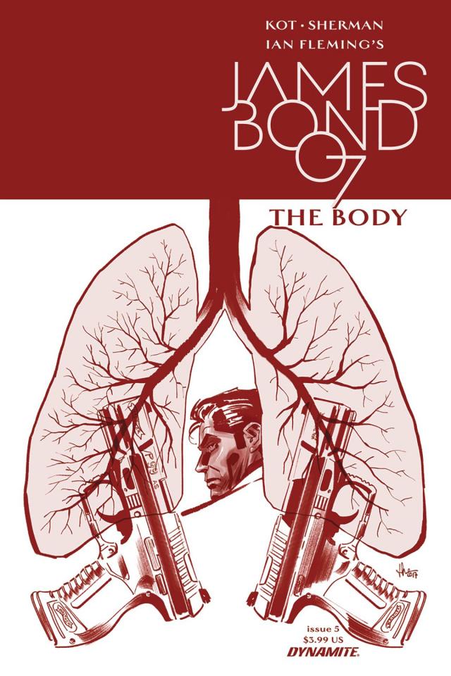 James Bond: The Body #5 (Casalanguida Cover)