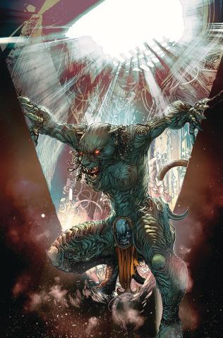 Red Agent: The Island of Dr. Moreau #1 (Tolibao Cover)