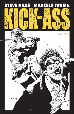 Kick-Ass #11 (B&W Frusin Cover)