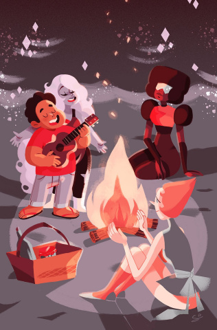 Steven Universe #9 (Subscription Meynet Cover)