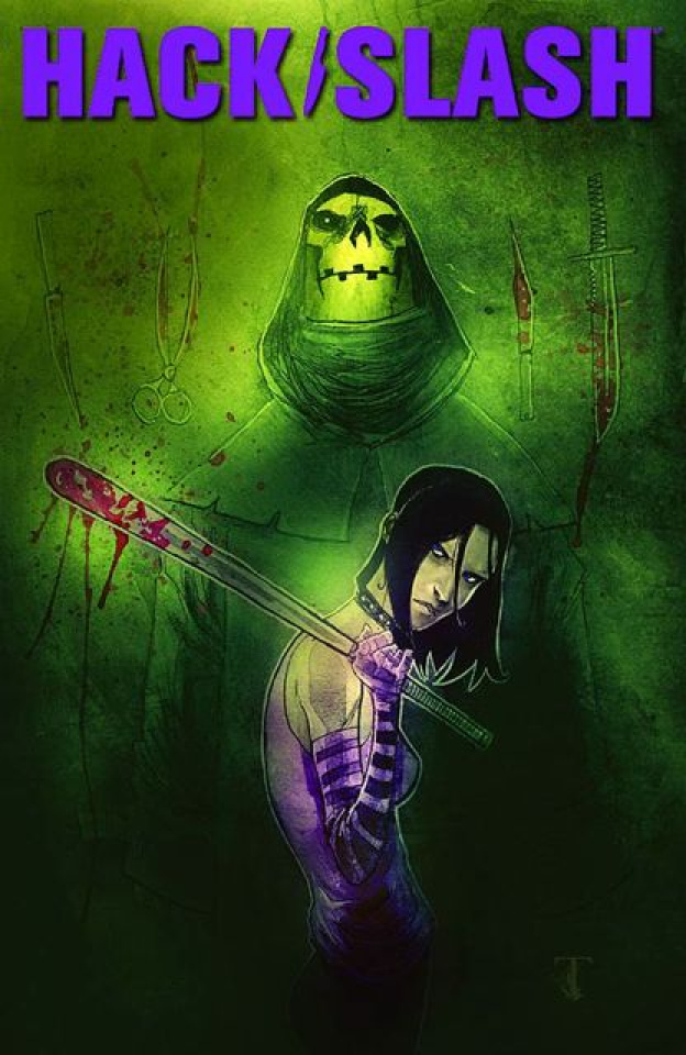 Hack/Slash #13 (Templesmith Cover)